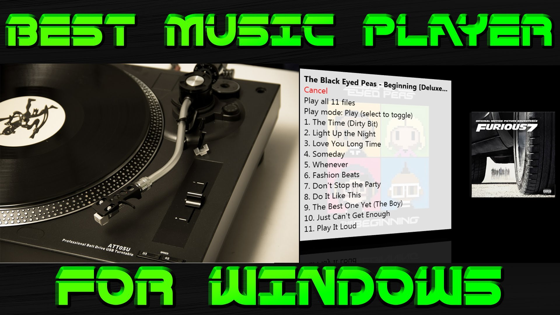 Best audio player for Windows 7