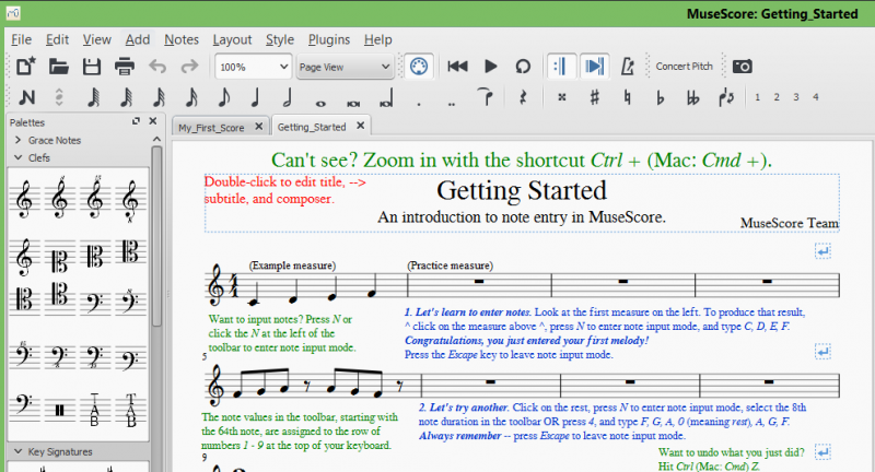 free music notation software for mac
